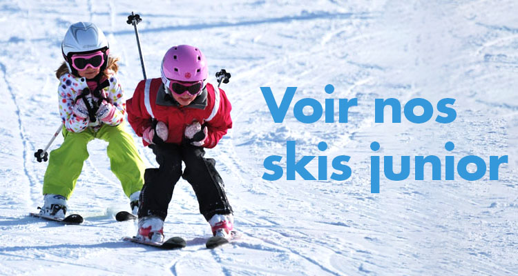 Voir nos skis junior
