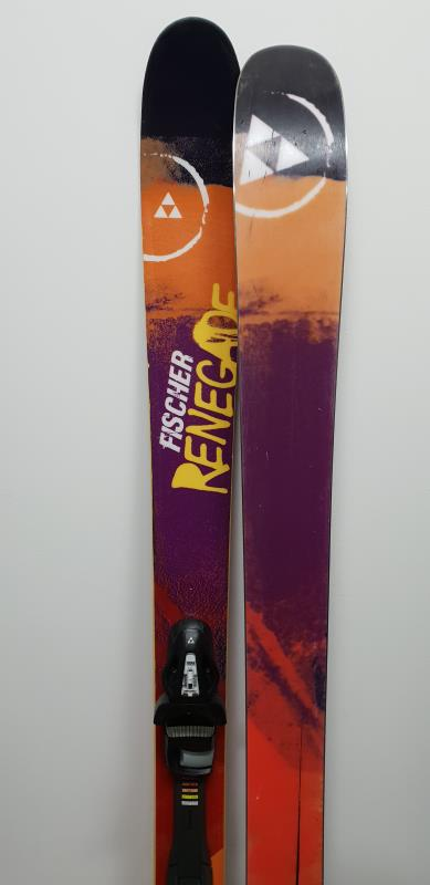 SKI D'OCCASION FREESTYLE FISCHER RENEGADE 2014 A PRIX DISCOUNT
