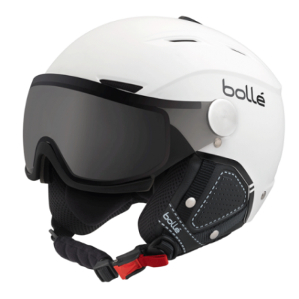 CASQUE DE SKI/SNOW BOLLE BACKLINE VISOR PREMIUM PHOTOCHROMIQUE WHITE 2019 BAS PRIX