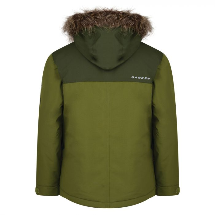 VESTE DE SKI JUNIOR DARE 2B RECKLESS JACKET MANTIS GREEN DKP356