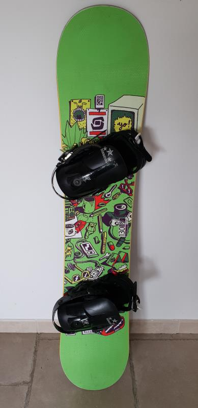 SNOWBOARD D'OCCASION SALOMON JUNIOR +FIXATION