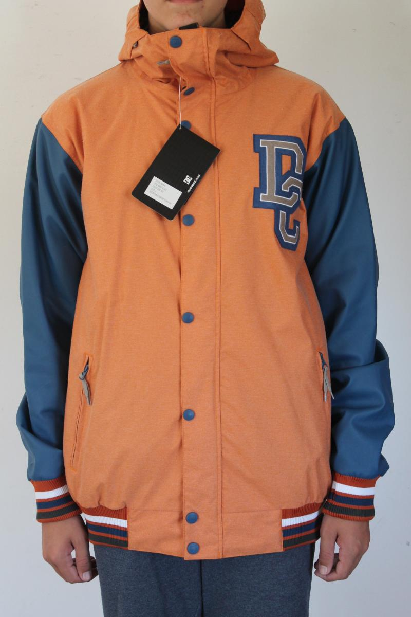 VESTE DE SKI/SNOW HOMME DC SHOES DCLA 5K ORANGE/BL